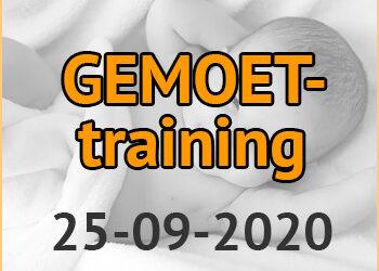 GEMOET-training | 25-09-2020
